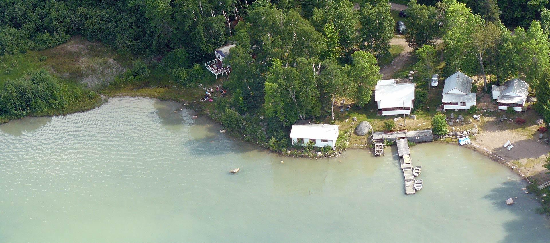 bruce-bay-cottages-aerial