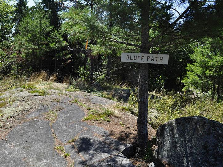 bluff-path