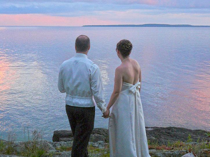 couple-lake-huron